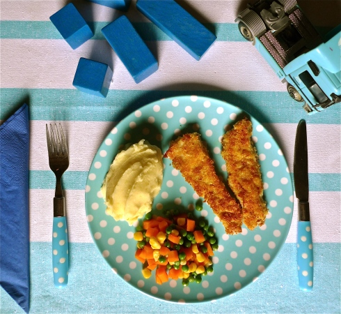 Homemade Fishfingers