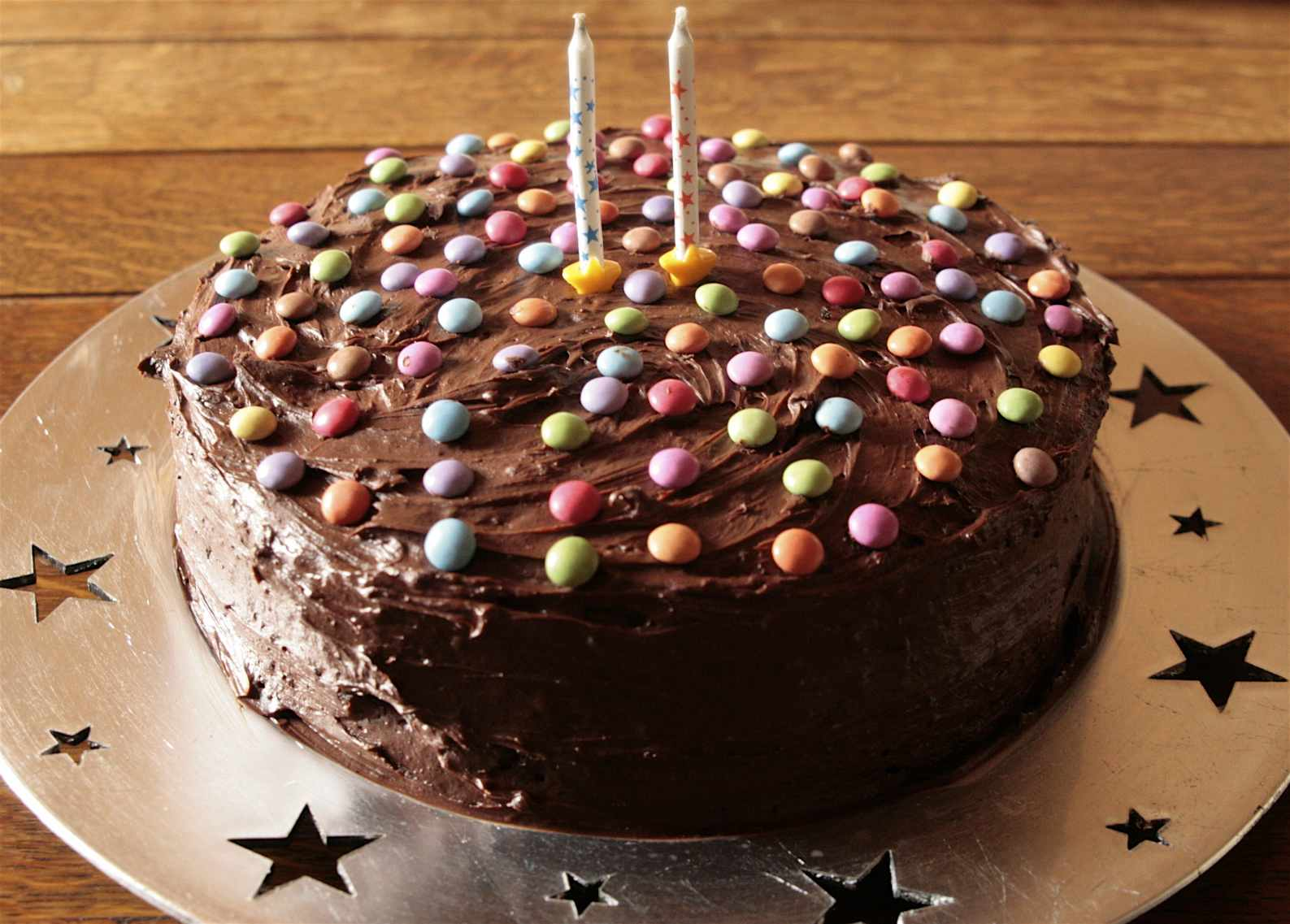 Chocolate Birthday Cake Chez Foti