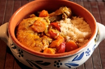 Chicken & Apricot Tagine with Couscous