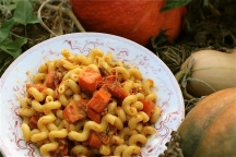 Pumpkin Carbonara