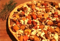 Butternut, Feta & Red Onion Tart with Thyme