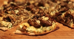 Roasted Wild Mushroom Pizza Recipe