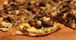 Roasted Wild Mushroom Pizza