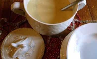 Parsnip & Pear Soup