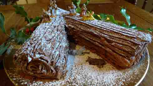 My Chocolate & Chestnut Buche Noel, coming in a blog very soon!