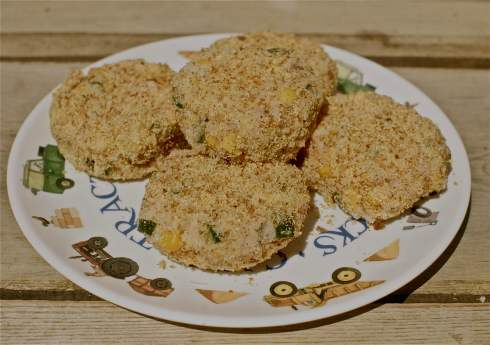 Cheese, Tuna & Veggie Cakes