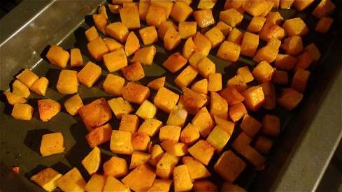 Cubes of Butternut