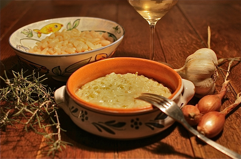 Rosemary & Cannellini Bean Risotto