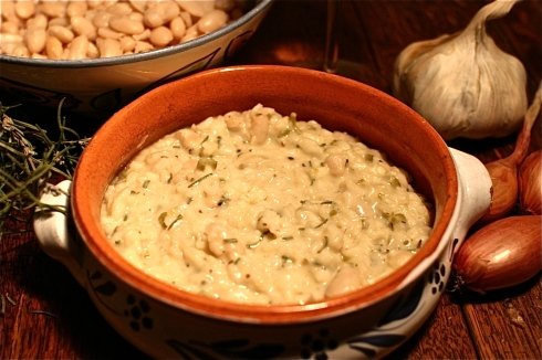 Rosemary and Cannellini Bean Risotto