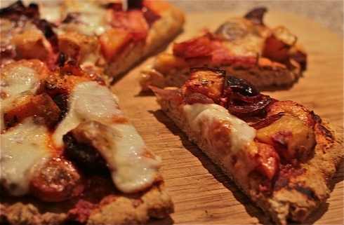 Scone based  pizza recipe