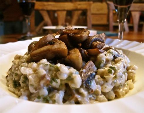Roasted Mushroom Risotto