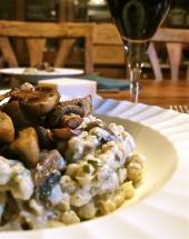 Roasted Mushroom Pearl Barley Risotto