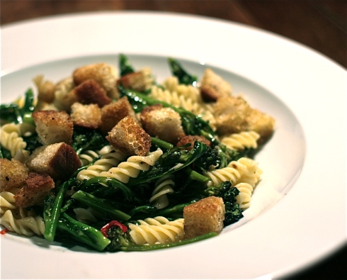 Purple Sprouting Broccoli Pasta Recipe