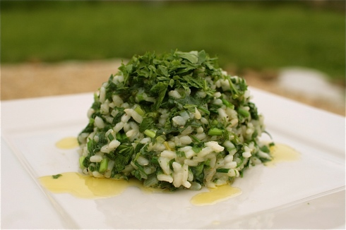 Nettle & Wild Garlic Risotto