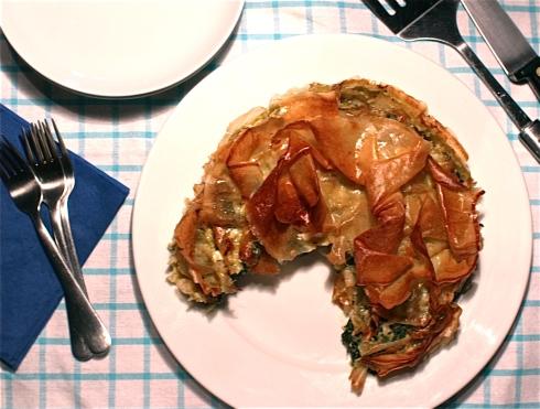 Spinach & Feta Pie Recipe