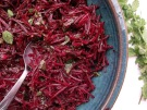 Raw Beetroot, Caraway, Lemon Balm & Mint Salad