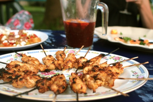 Chicken Satay Sticks