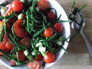 Samphire & Tomato Salad